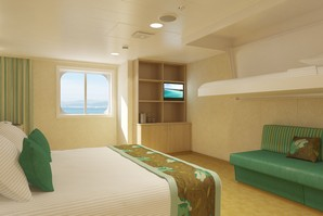 Cloud 9 Ocean View Carnival Breeze Stateroom Monocruise Com