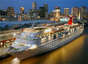 Carnival Conquest destination: Caribbean - New Orleans, Louisiana