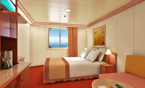 Ocean View Obstructed Views Carnival Conquest Stateroom